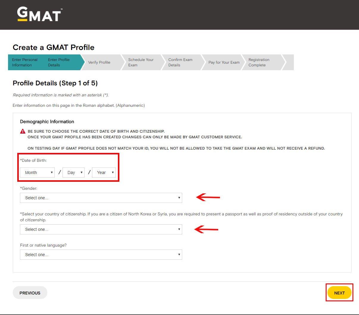Vpayment  ثبت نام GMAT با کمترین کارمزد ، آنلاین ، فوری
