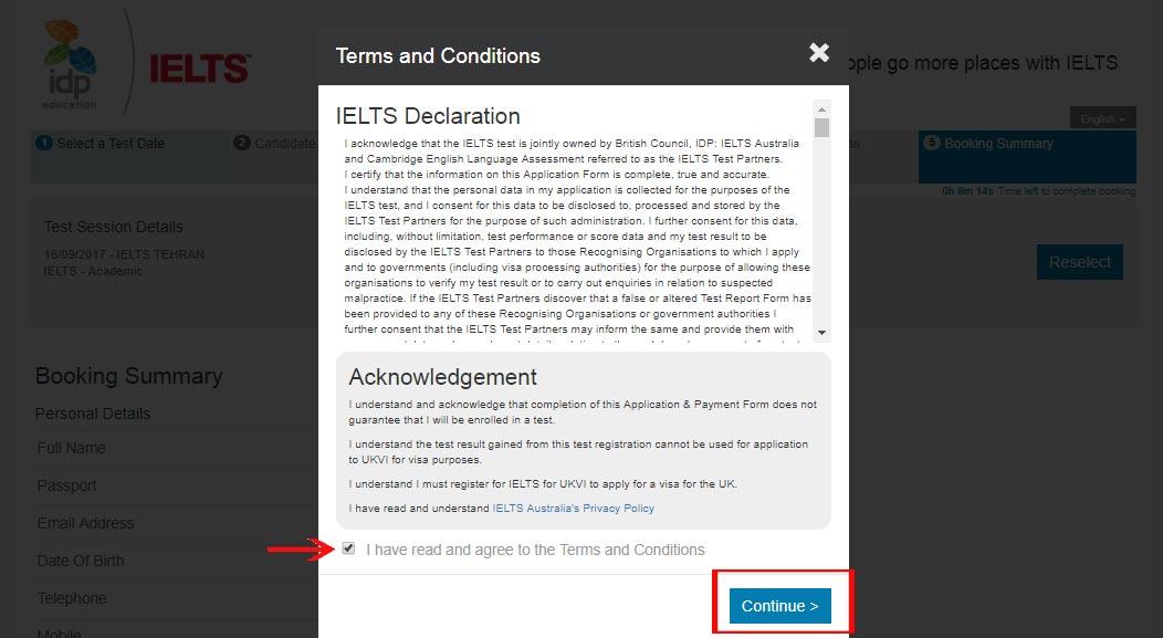 Vpayment | ثبت نام آیلتس ، هزینه آزمون IELTS ، راهنمای پرداخت آزمون آیلتس