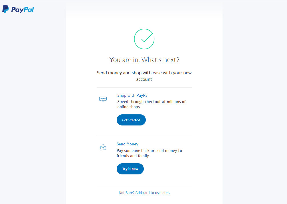 Vpayment | افتتاح حساب پی پال ، راهنمای ثبت نام PayPal