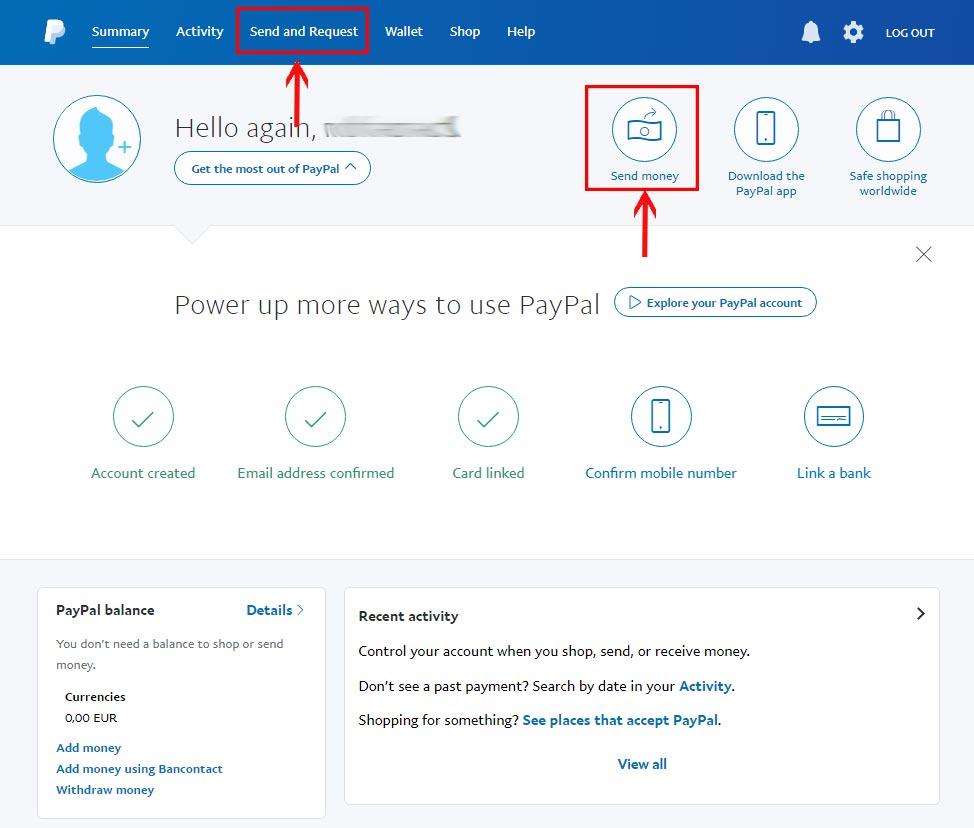 Vpayment | انتقال پول با پی پال ، انتقال ارز ، ارسال پول