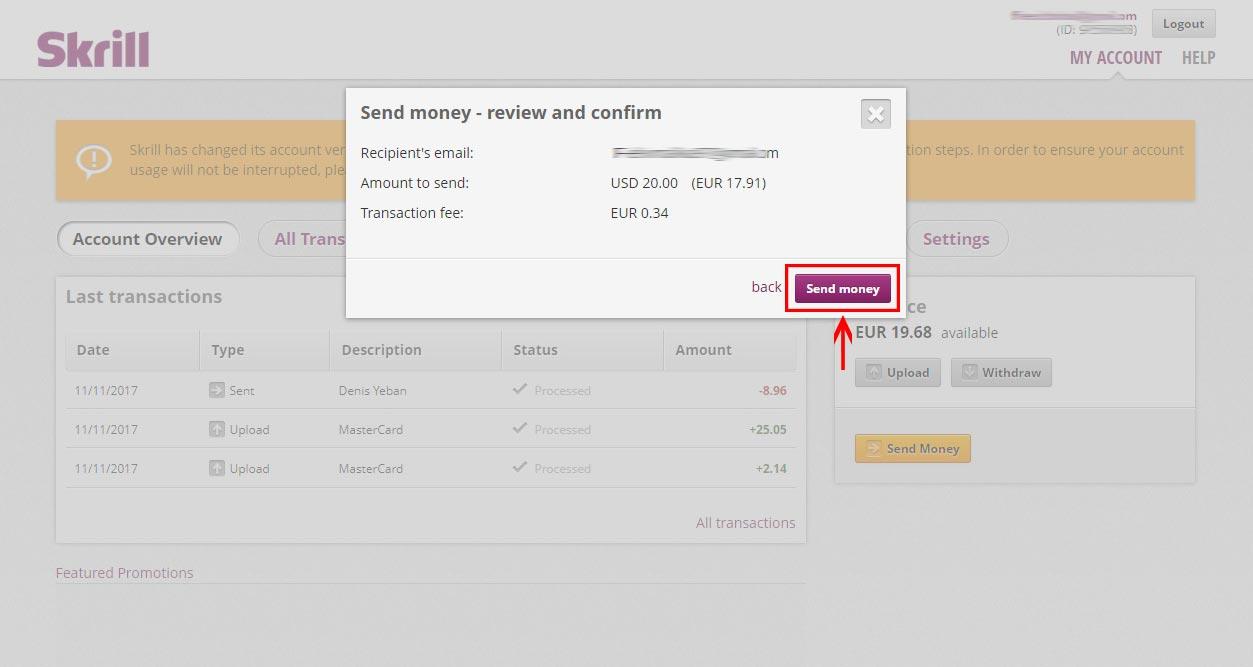 Vpayment | ارسال پول با اسکریل ، راهنمای ارسال پول با مانی بوکرز (moneybookers)