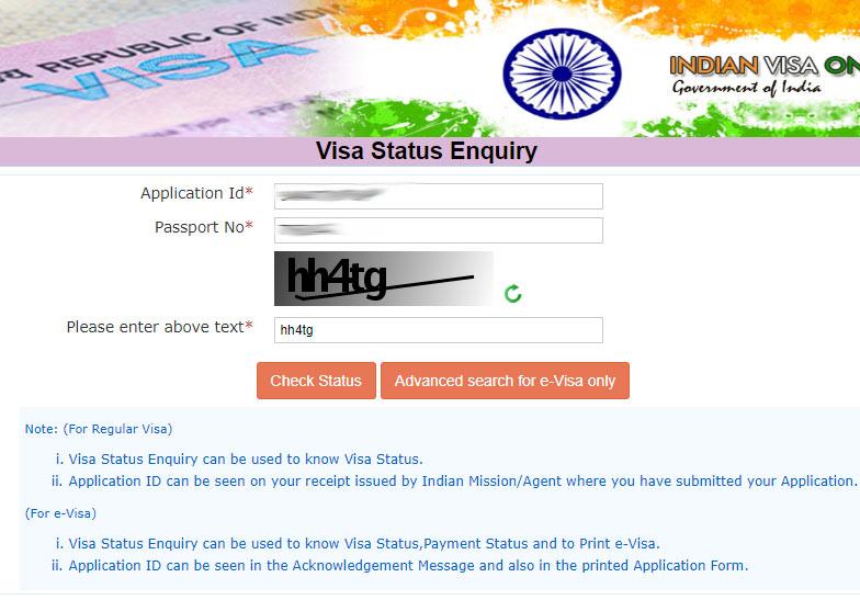 مرحله نهم پرداخت ویزای هند