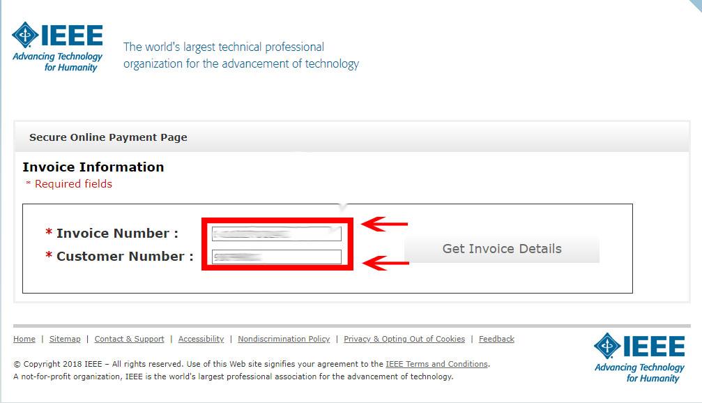 مرحله اول پرداخت IEEE